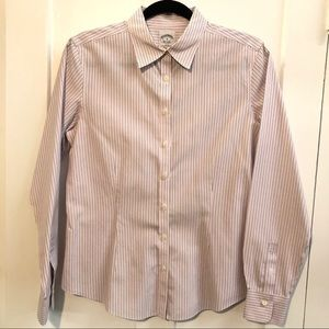Brooks Brothers fitted non iron stretch shirt
